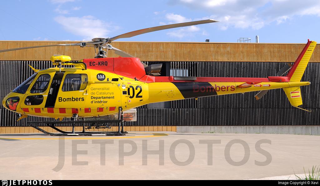 EC-KRQ - Aérospatiale AS 350B3 Ecureuil - TAF Helicopters