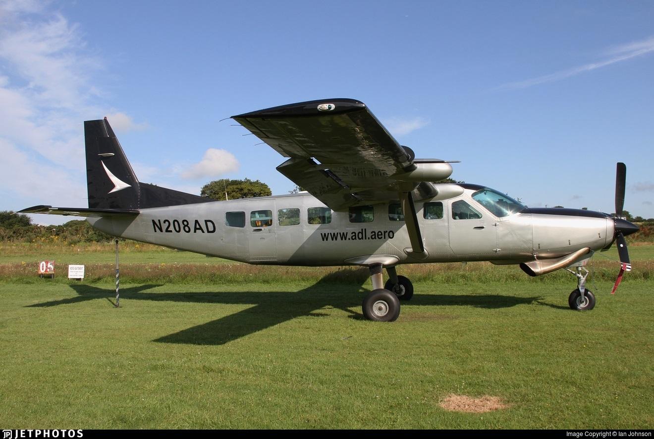 N208AD - Cessna 208B Grand Caravan - Private