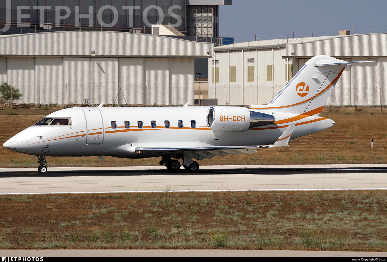 9H-CCH - Bombardier CL-600-2B16 Challenger 650 - TAG Aviation