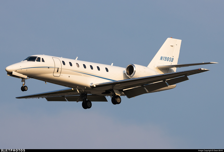 N198SB - Cessna 680 Citation Sovereign - Private
