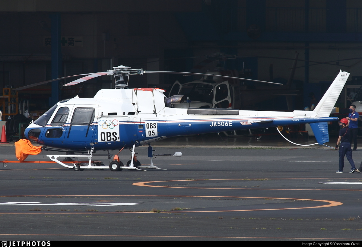 JA506E - Airbus Helicopters H125 - Toho Air Service