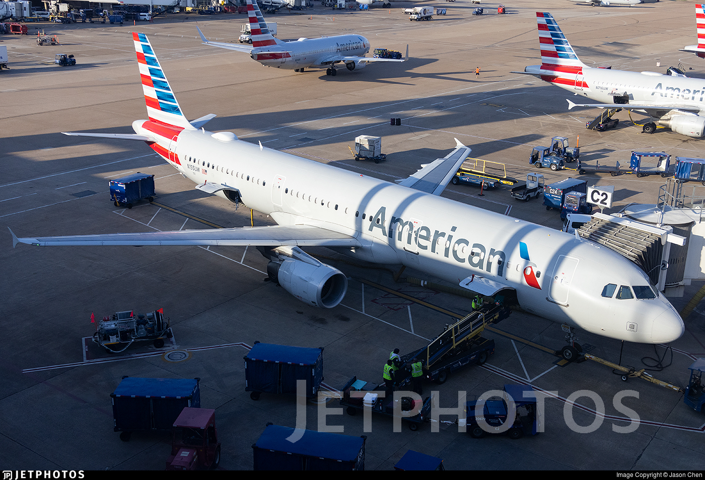 N155UW - Airbus A321-211 - American Airlines