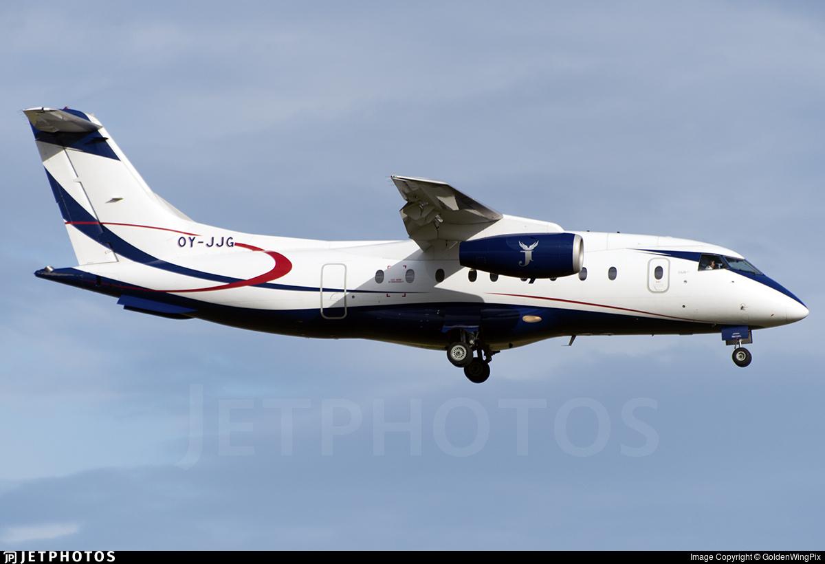 OY-JJG - Dornier Do-328-310 Jet - Sun Air