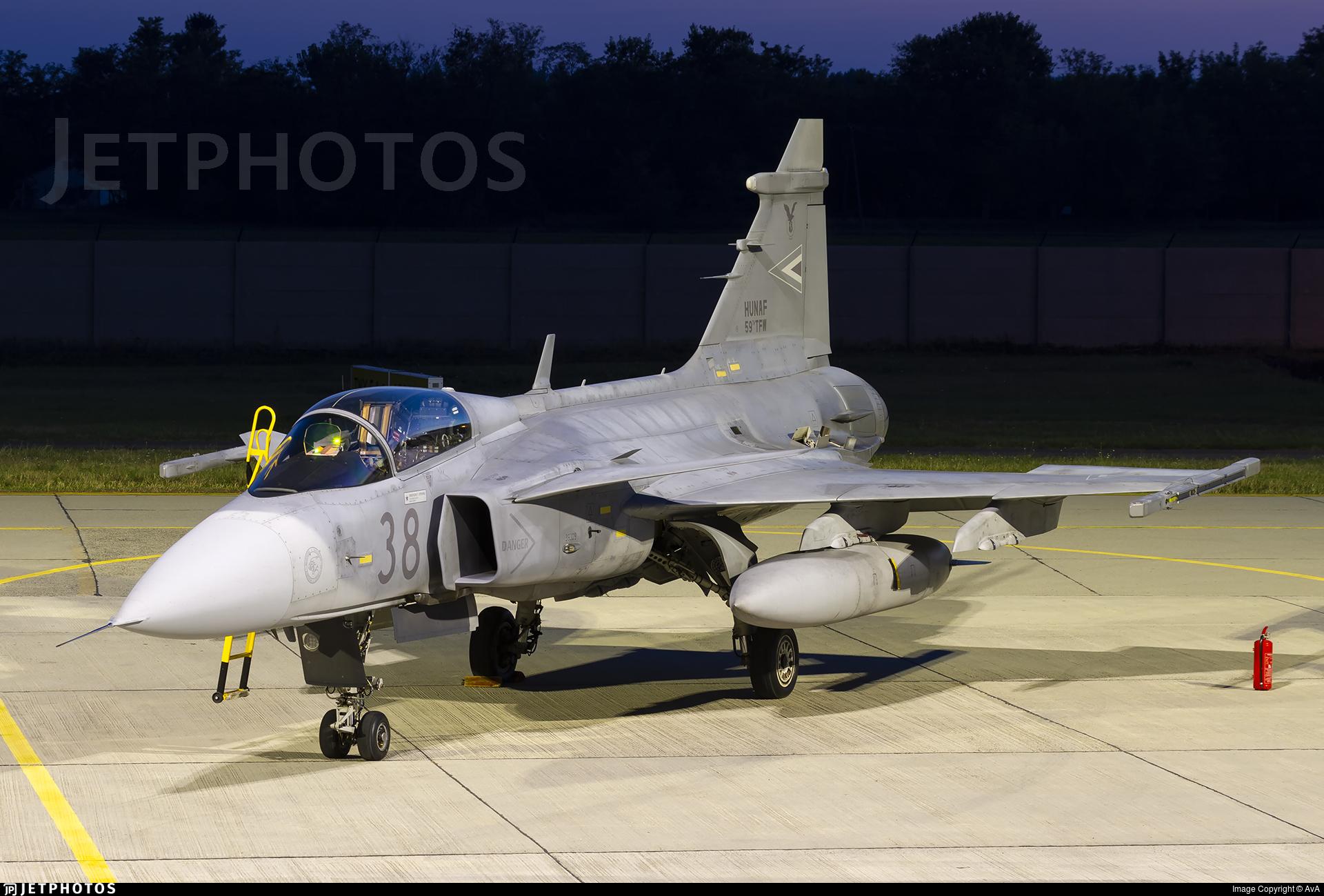 38 - Saab JAS-39C Gripen - Hungary - Air Force