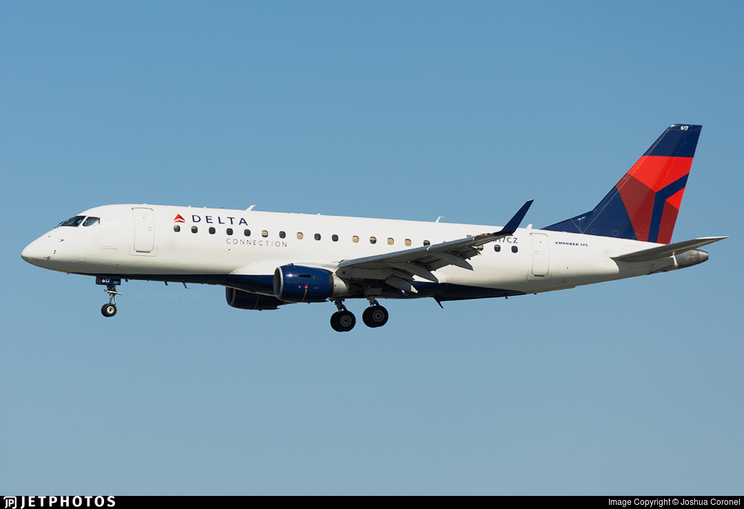 N617CZ - Embraer 170-200LR - Delta Connection (Compass Airlines)