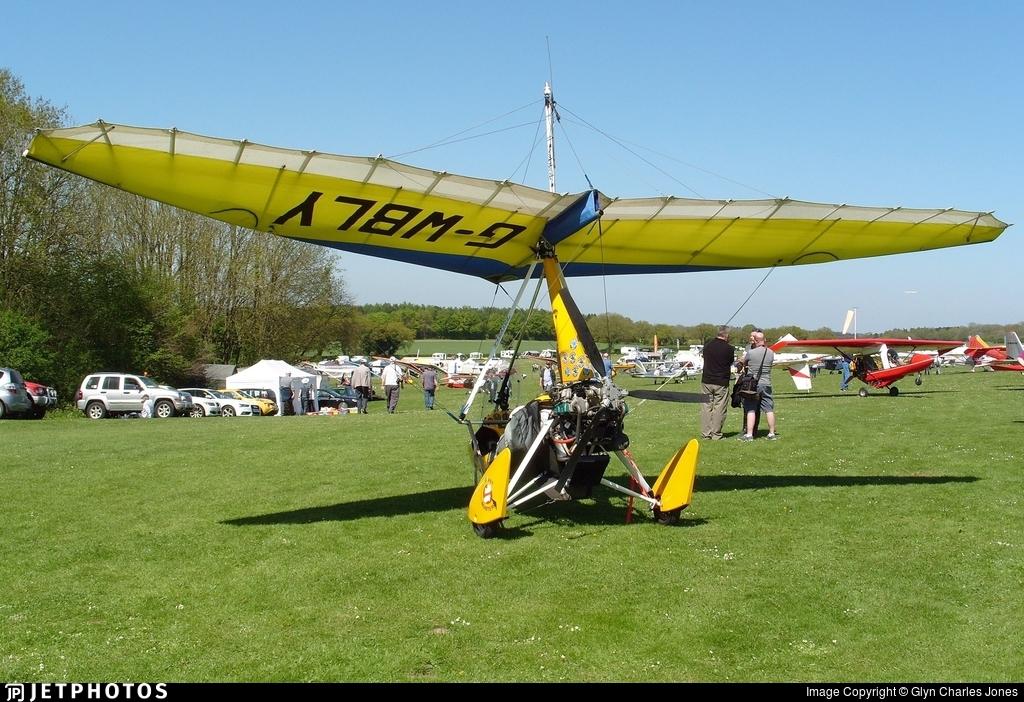 G-WBLY - Mainair Pegasus Quik - Private