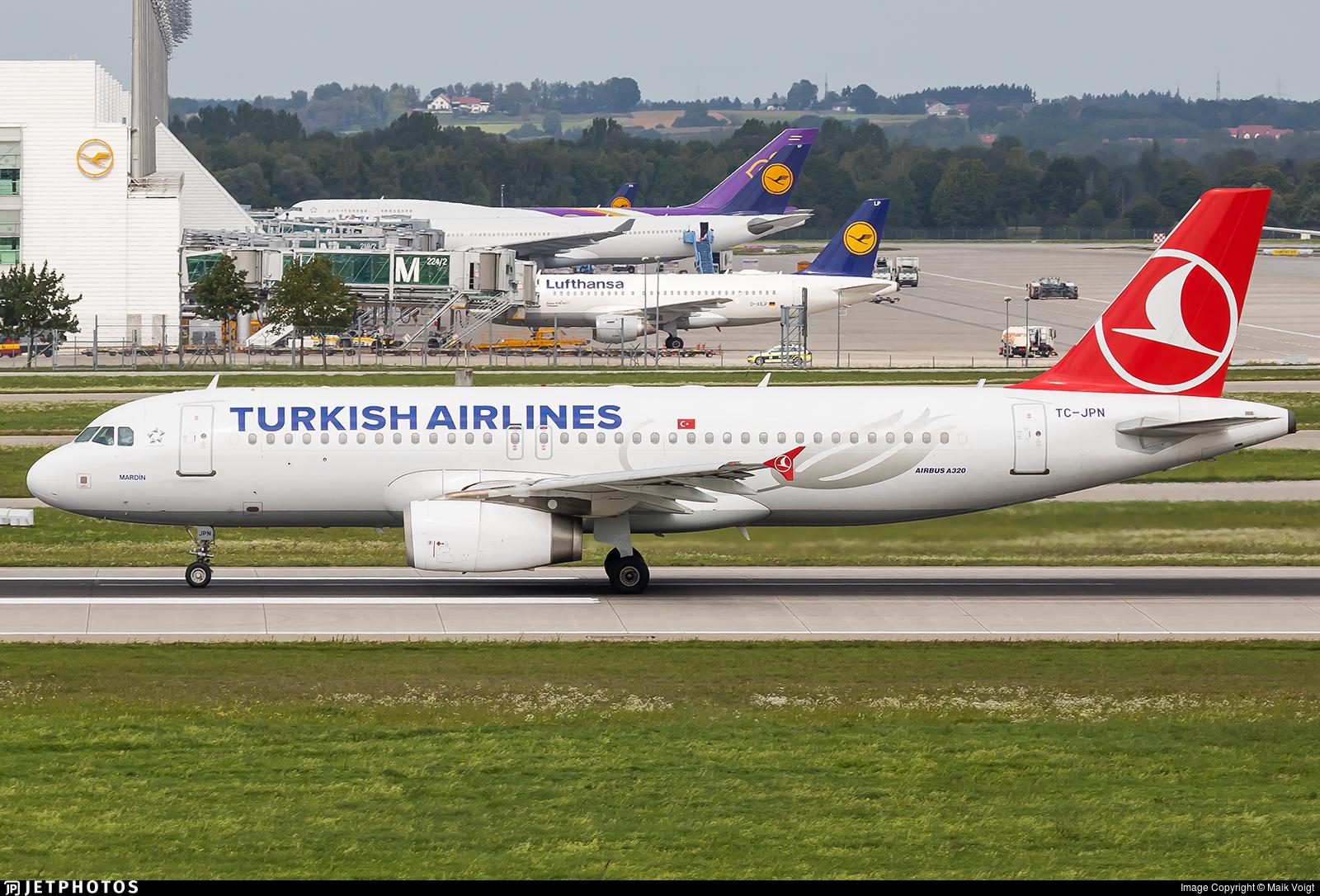 TC-JPN - Airbus A320-232 - Turkish Airlines