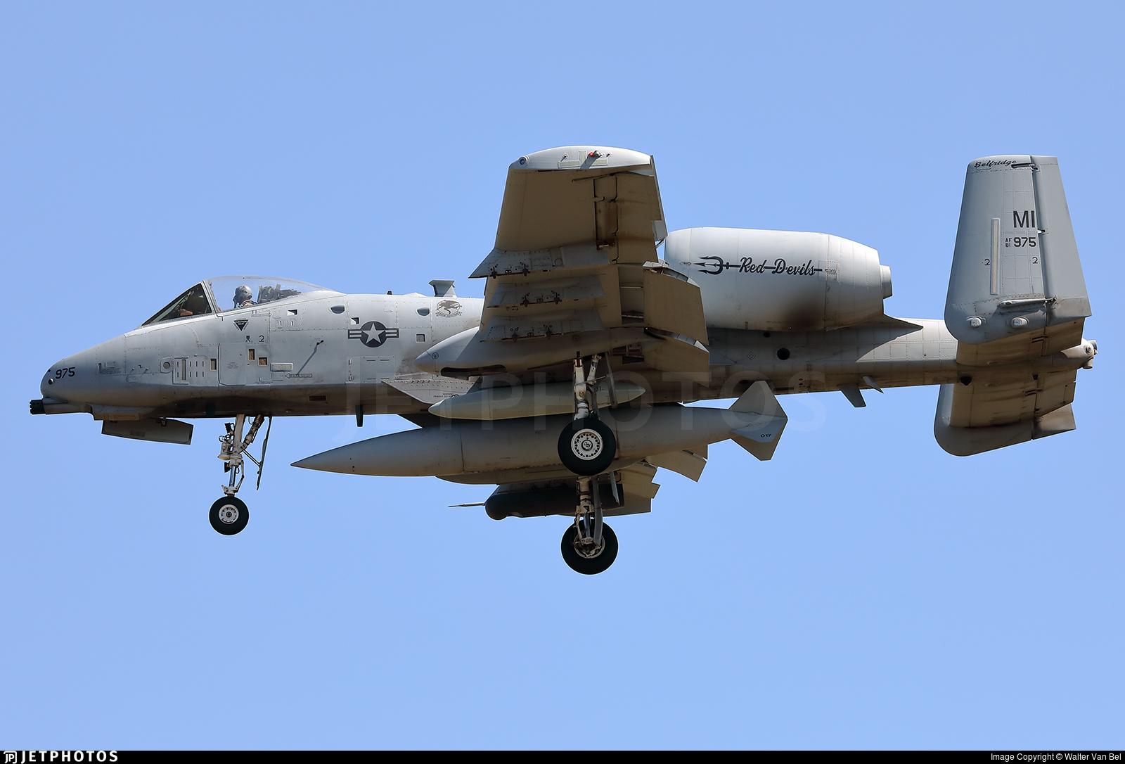 81-0975 - Fairchild A-10C Thunderbolt II - United States - US Air Force (USAF)