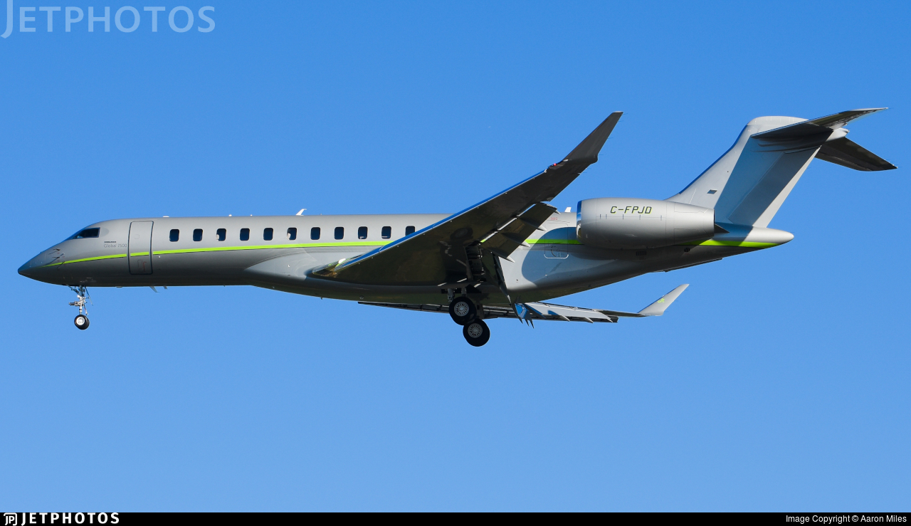 C-FPJD - Bombardier BD-700-2A12 Global 7500  - Chartright Air