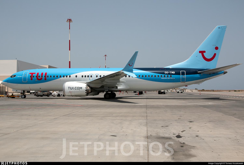 OO-TMB - Boeing 737-8 MAX - TUI
