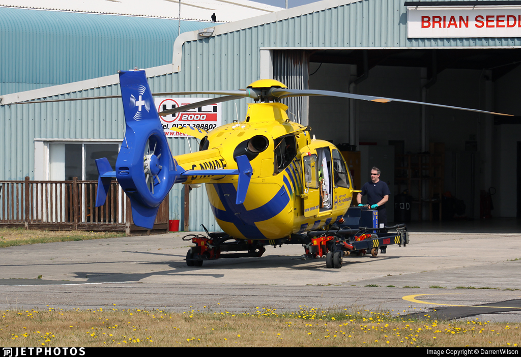 G-NWAE - Eurocopter EC 135T2 - Bond Air Services