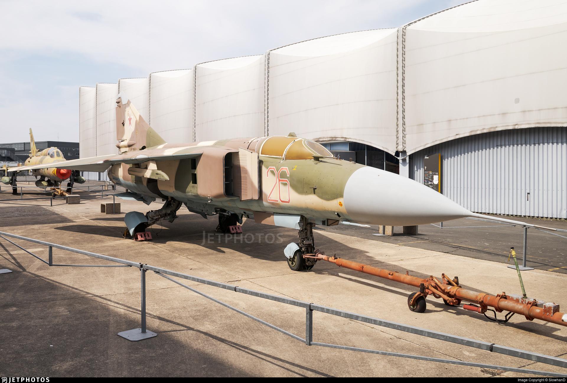 26 - Mikoyan-Gurevich MiG-23ML Flogger G - Russia - Air Force
