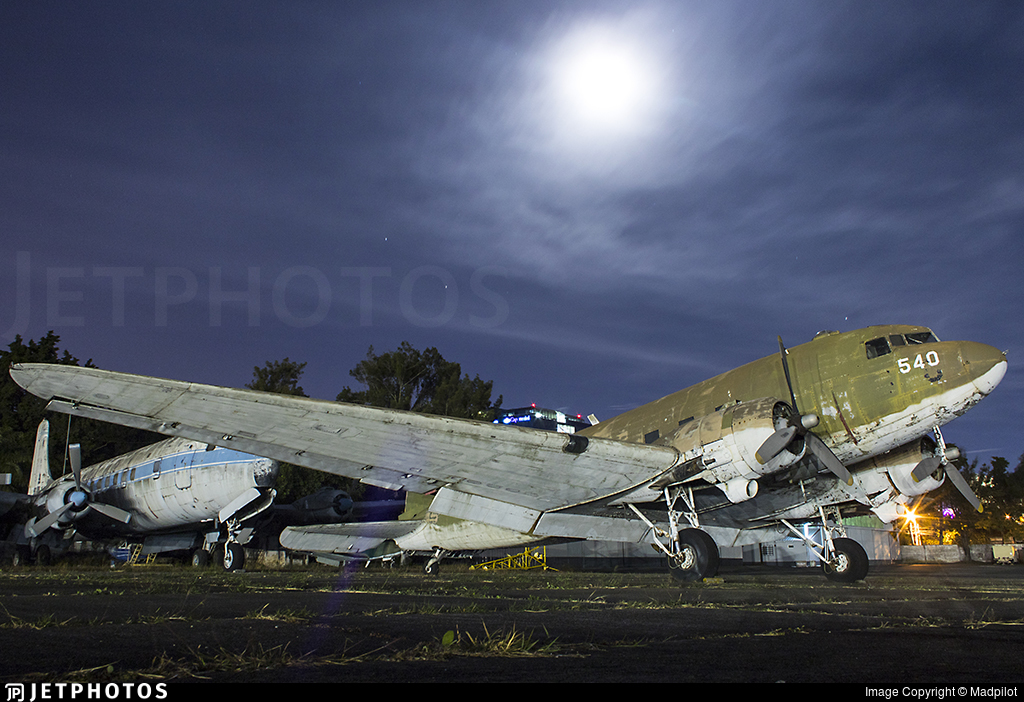 540 - Douglas C-47A Skytrain - Guatemala - Air Force