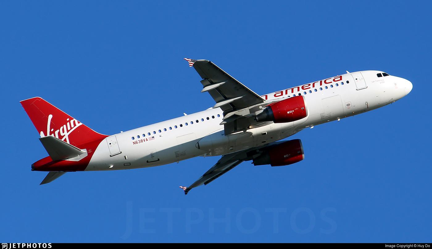 N638VA - Airbus A320-214 - Virgin America