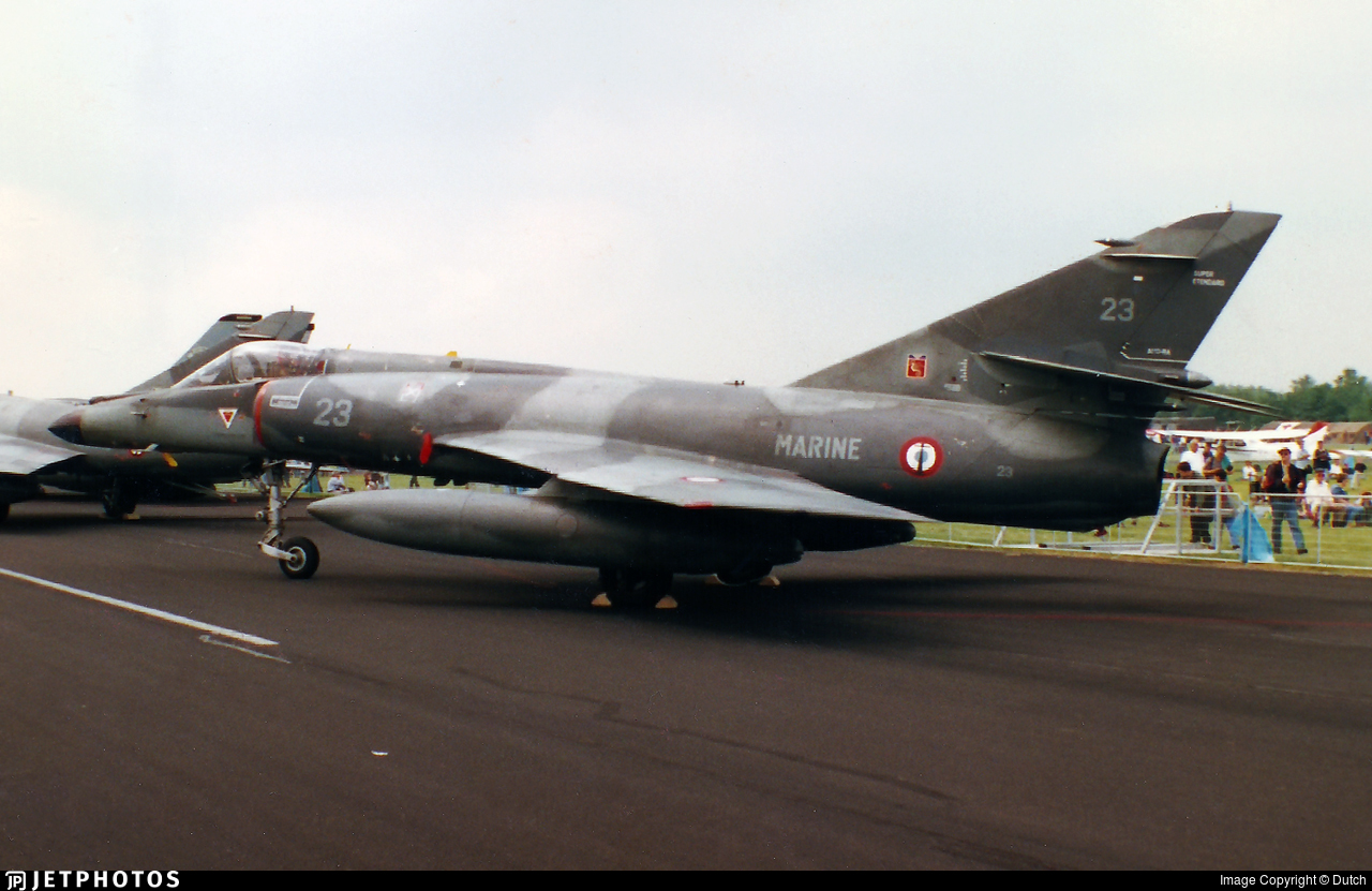 23 - Dassault Super Étendard - France - Navy
