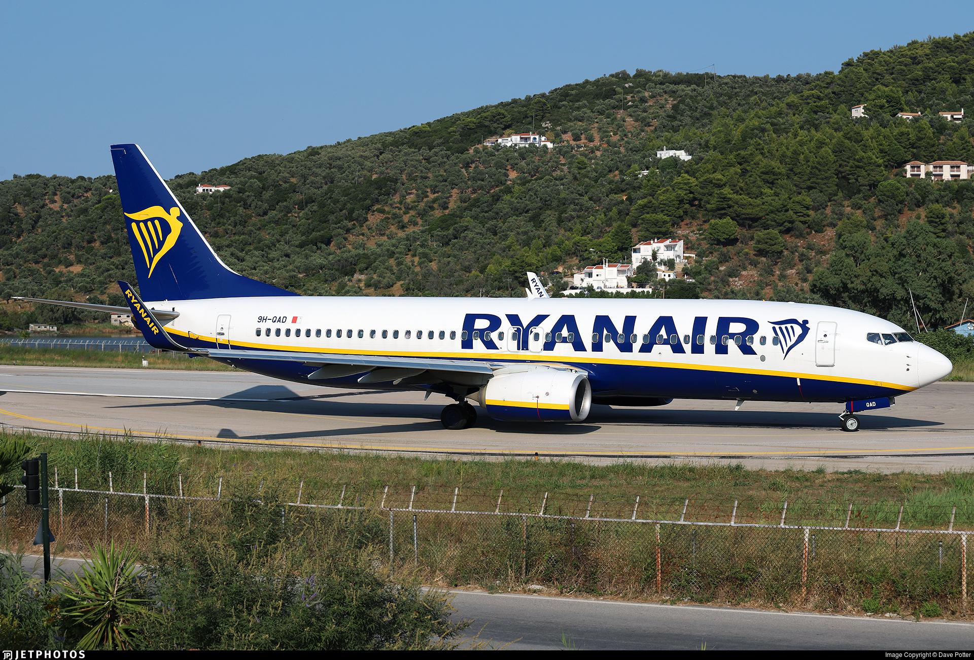 9H-QAD - Boeing 737-8AS - Ryanair (Malta Air)