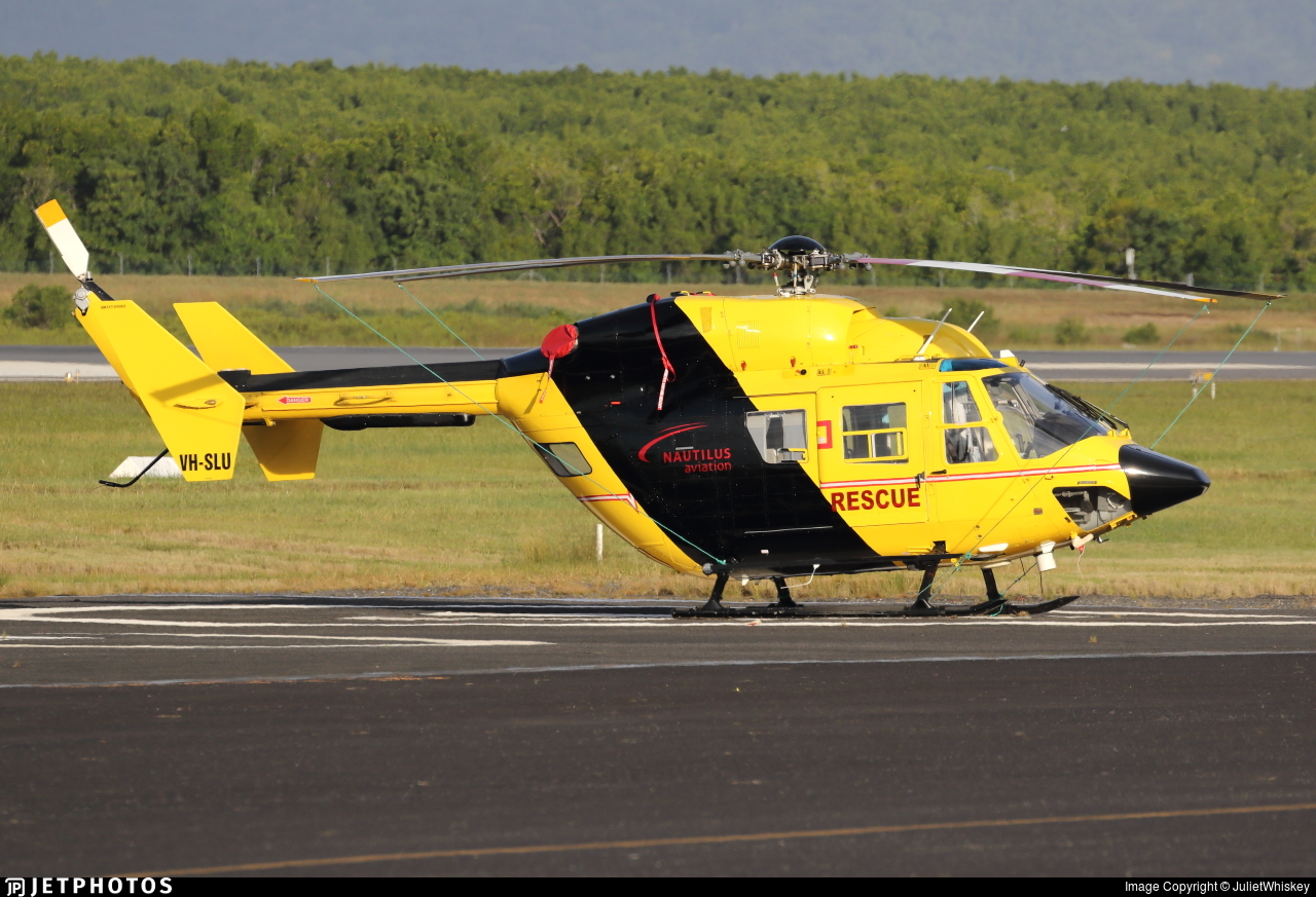 VH-SLU - MBB-Kawasaki BK117B-2 - Nautilus Aviation