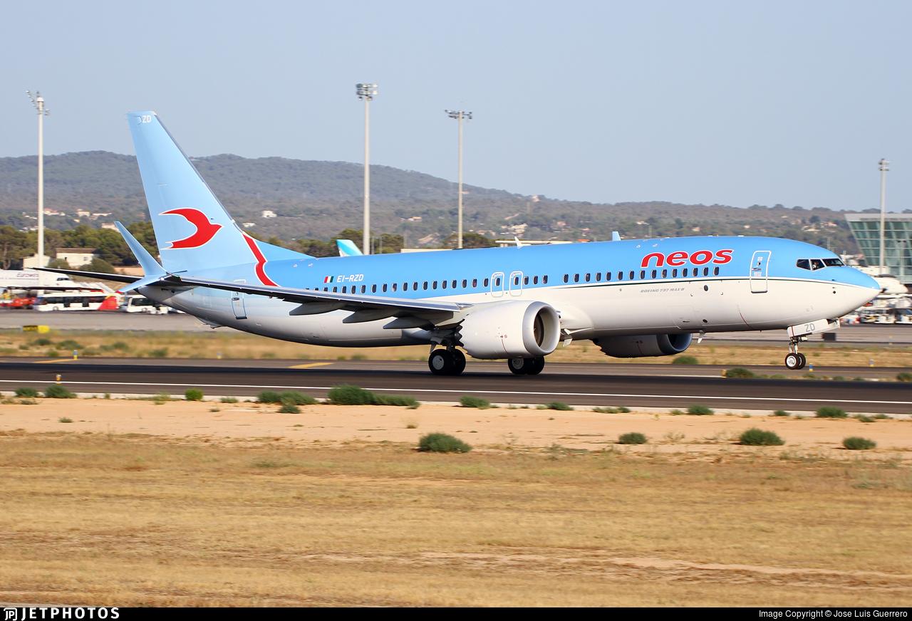 EI-RZD - Boeing 737-8 MAX - Neos