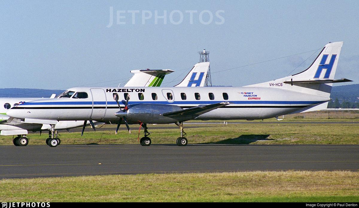 VH-HCB - Fairchild SA227-DC Metro 23 - Hazelton Airlines