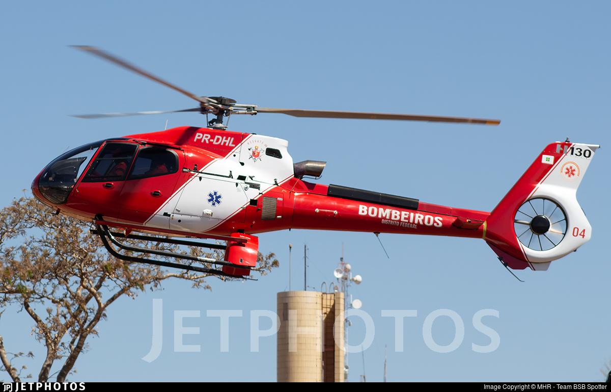 PR-DHL - Eurocopter EC 130B4 - Brazil - Military Firefighters