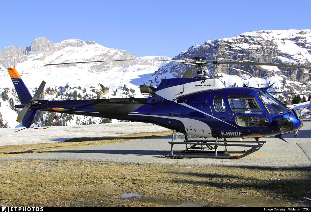 F-HHDF - Eurocopter AS 350B3 Ecureuil - Mont Blanc Hélicoptères
