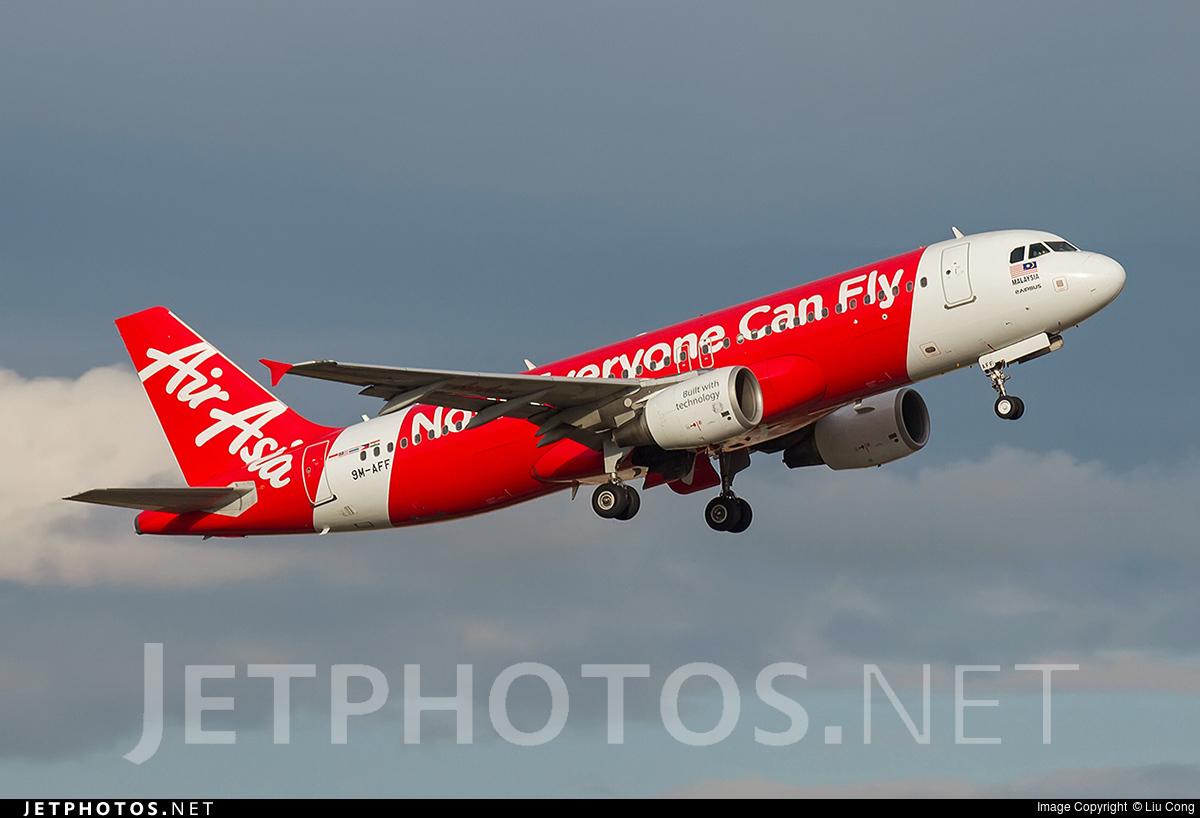 9M-AFF - Airbus A320-214 - AirAsia