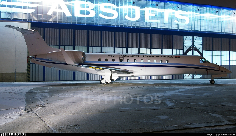 T-501 - Embraer ERJ-135BJ Legacy - Angola - Air Force