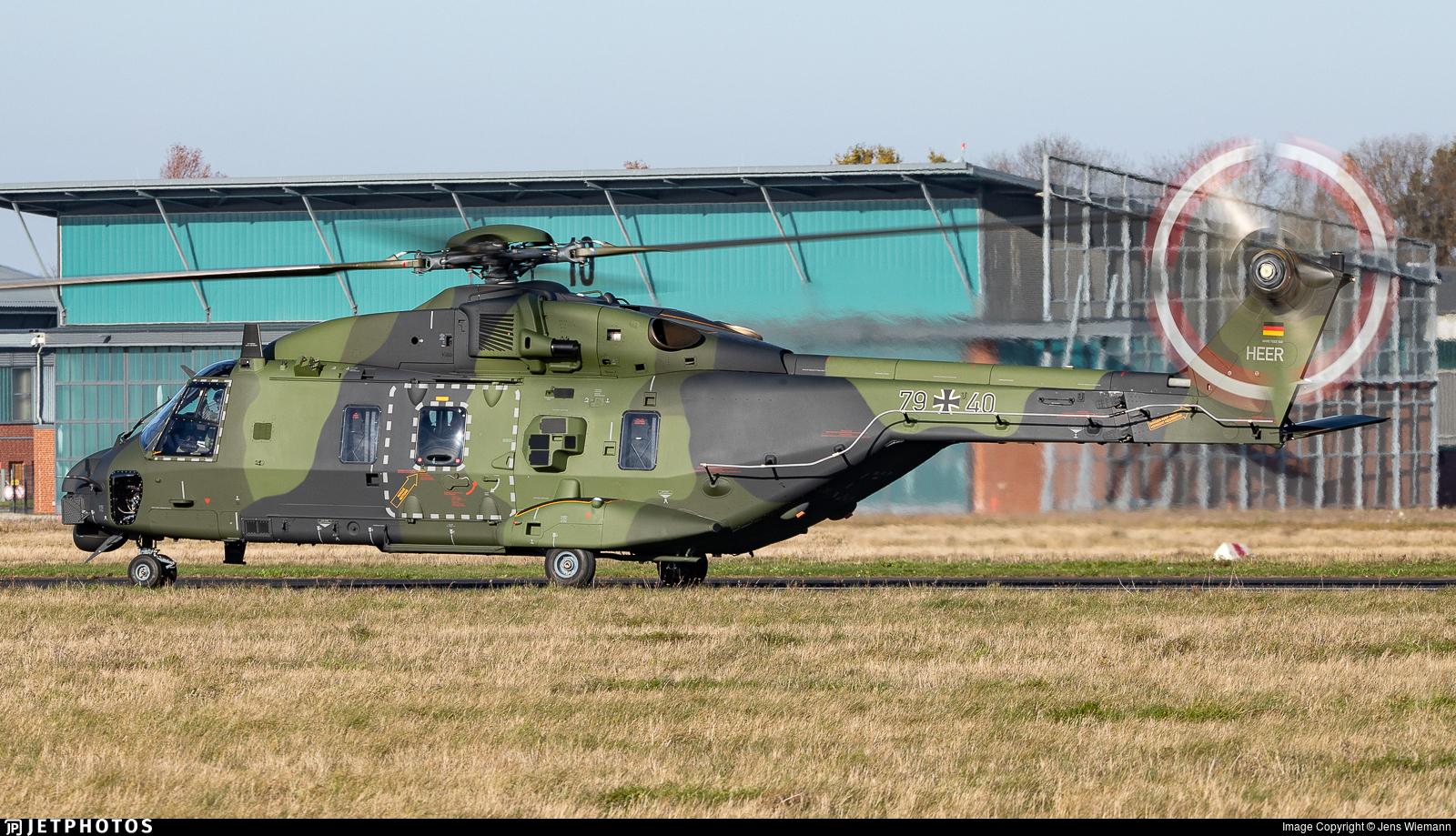 79-40 - NH Industries NH-90TTH - Germany - Army