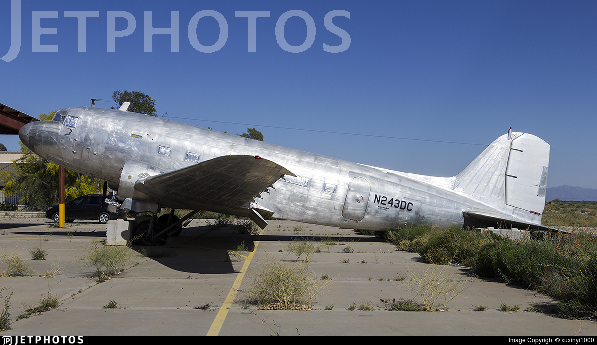 N243DC - Douglas C-47A Skytrain - Private