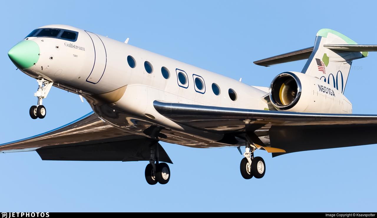 N601GA - Gulfstream G600 - Gulfstream Aerospace
