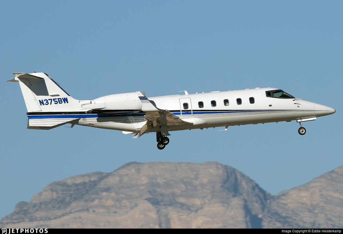 N375BW - Bombardier Learjet 60 - Private