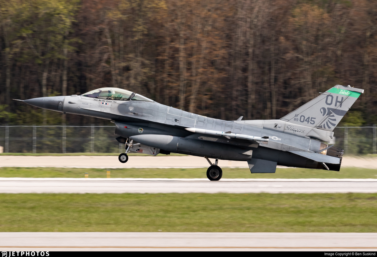 89-2045 - General Dynamics F-16C Fighting Falcon - United States - US Air Force (USAF)