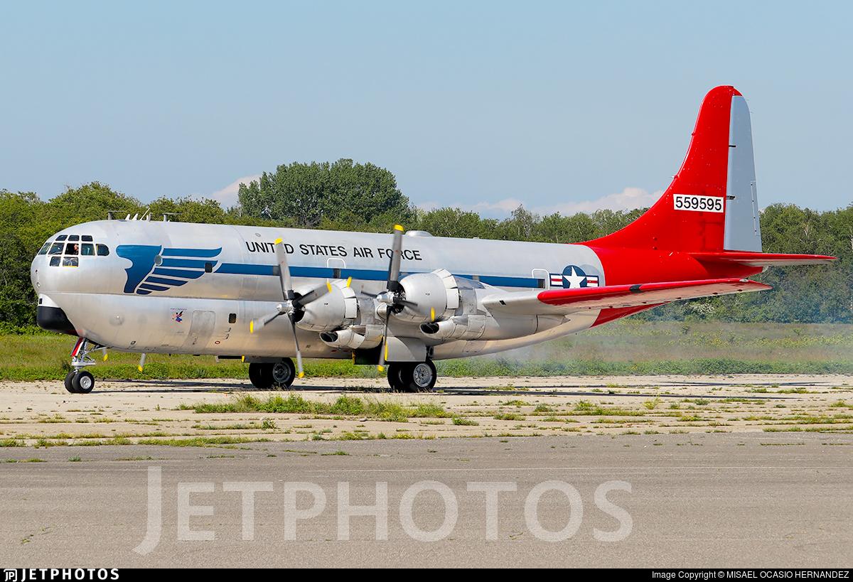 N117GA - Boeing C-97G Stratofreighter - Private