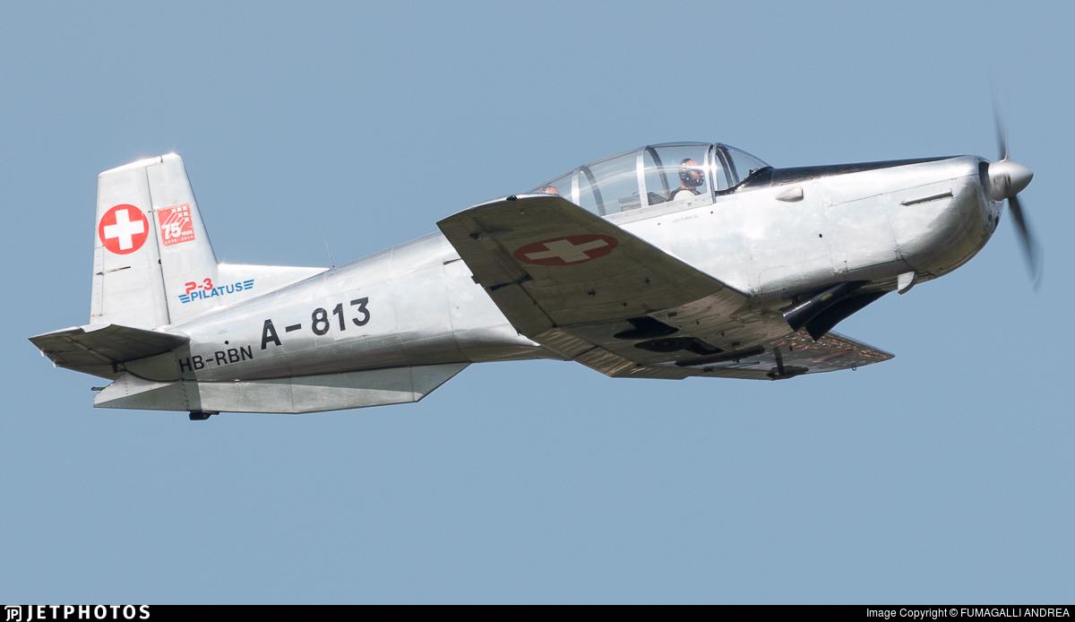 HB-RBN - Pilatus P-3-03 - P3 Flyers Ticino