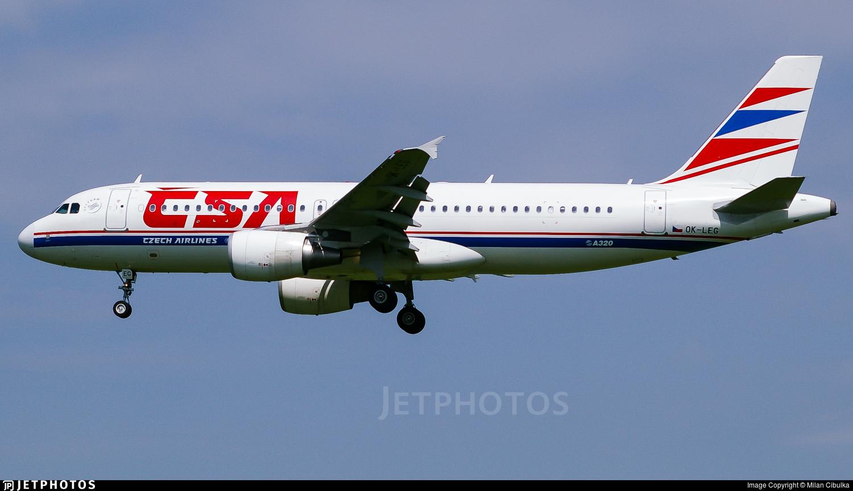OK-LEG - Airbus A320-214 - CSA Czech Airlines