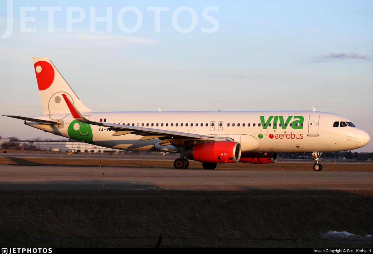 XA-VAJ - Airbus A320-232 - VivaAerobus