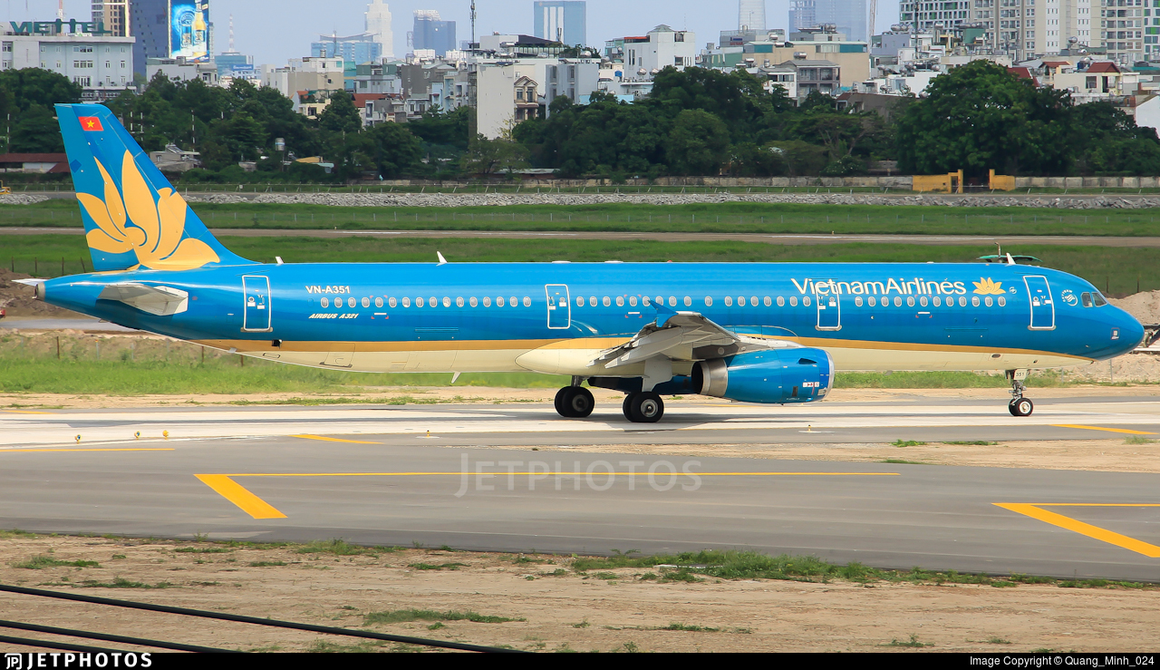 VN-A351 - Airbus A321-231 - Vietnam Airlines