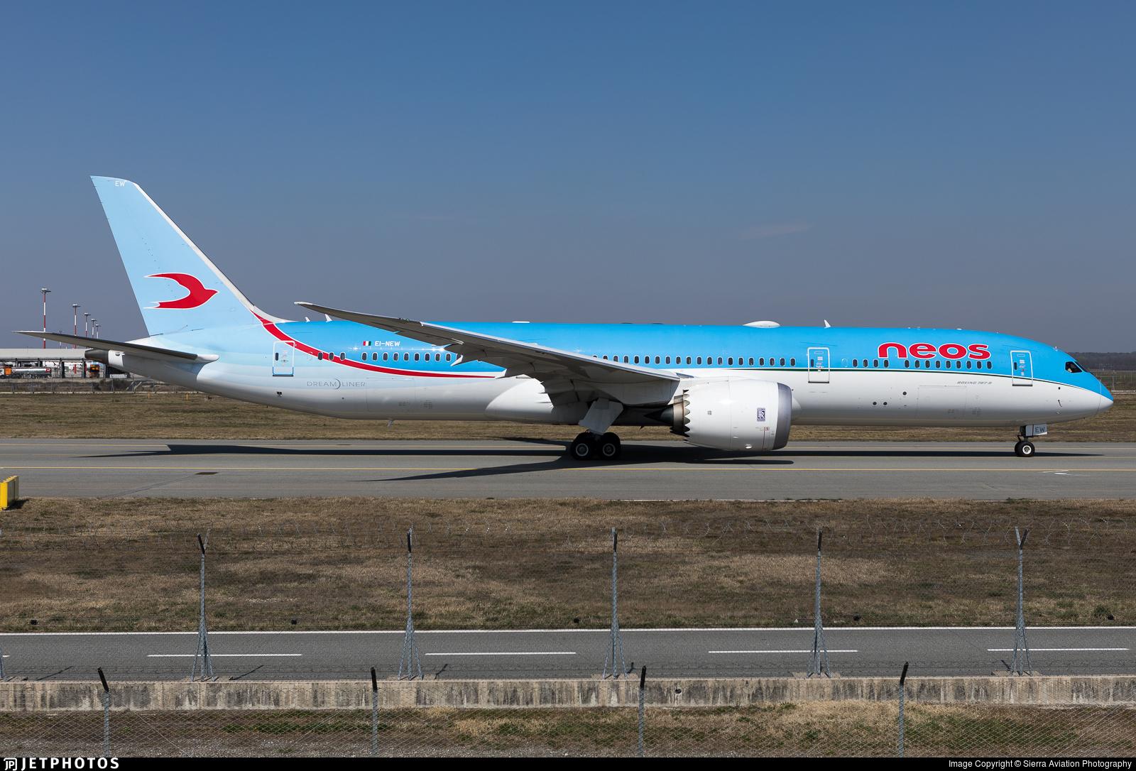 EI-NEW - Boeing 787-9 Dreamliner - Neos