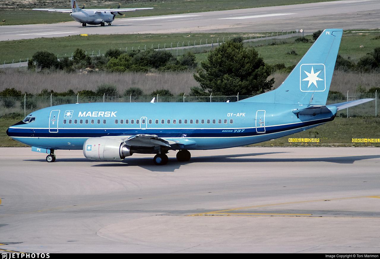 OY-APK - Boeing 737-5L9 - Maersk Air