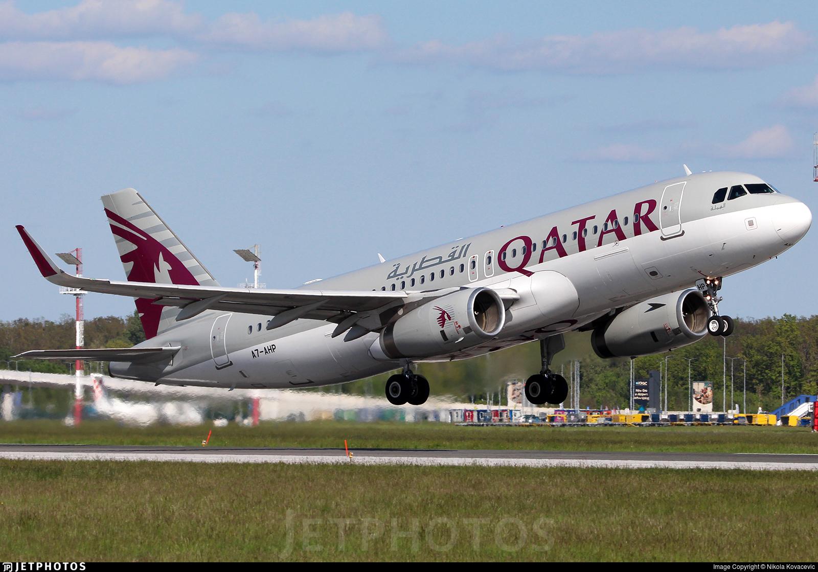A7-AHP - Airbus A320-232 - Qatar Airways