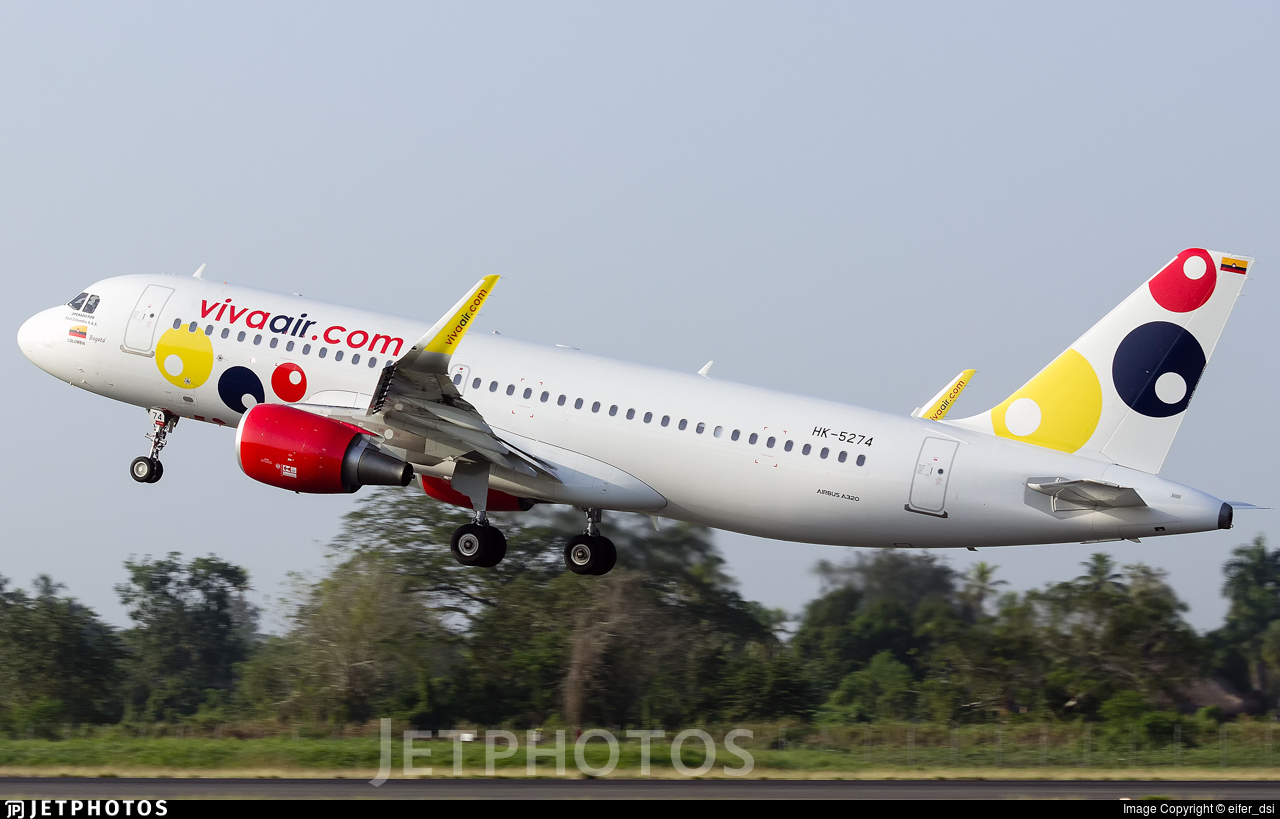 HK-5274 - Airbus A320-214 - Viva Air Colombia