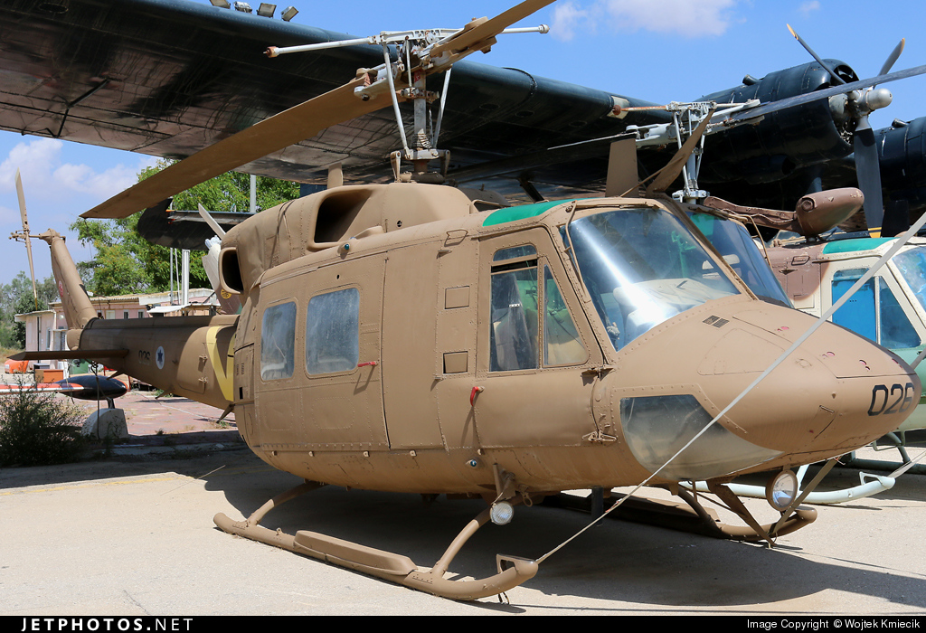 026 - Bell 212 - Israel - Air Force