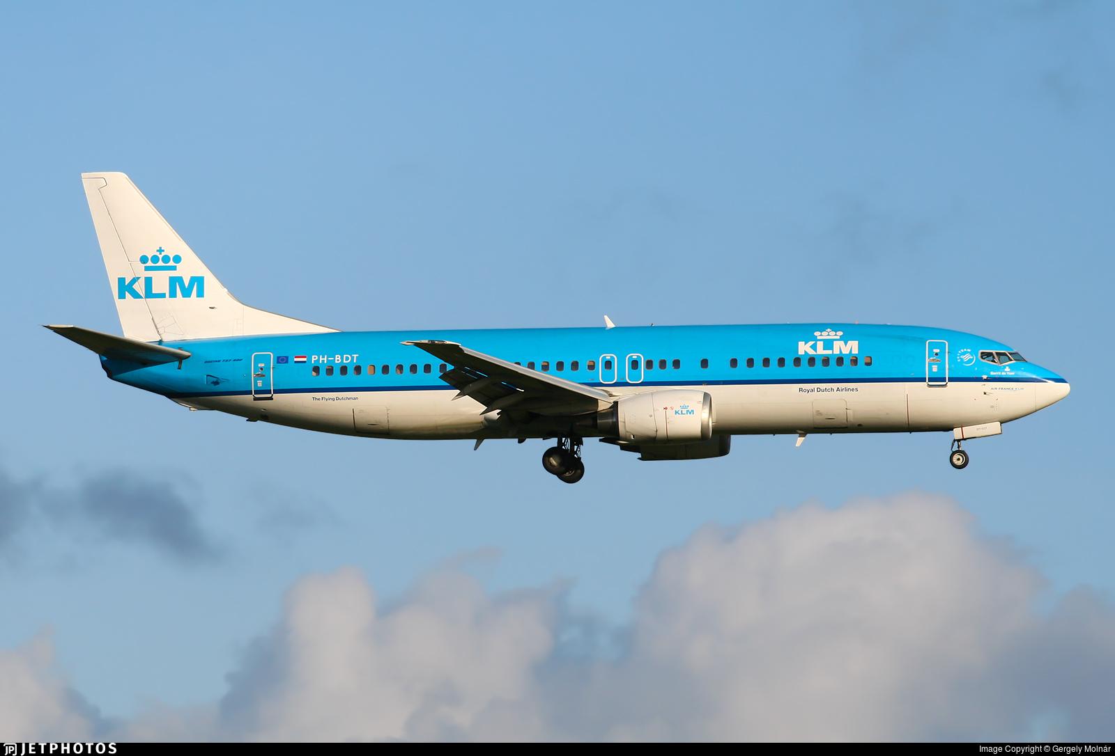 PH-BDT - Boeing 737-406 - KLM Royal Dutch Airlines