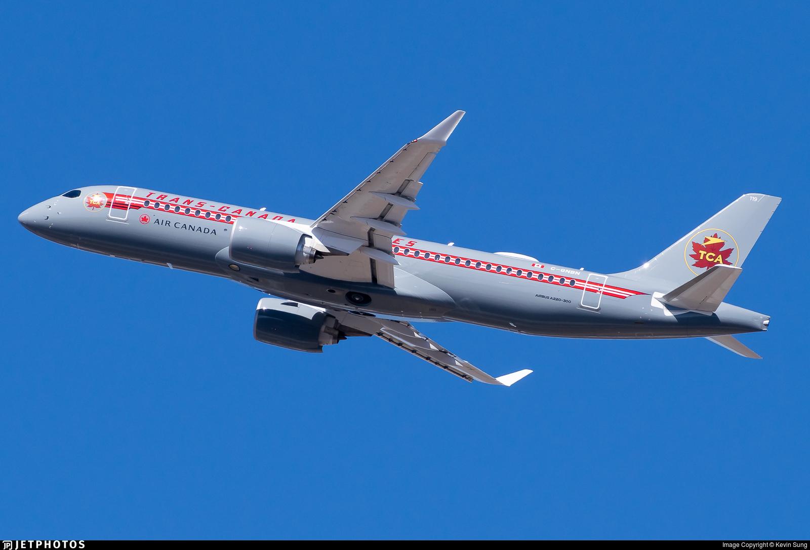 C-GNBN - Airbus A220-371 - Air Canada