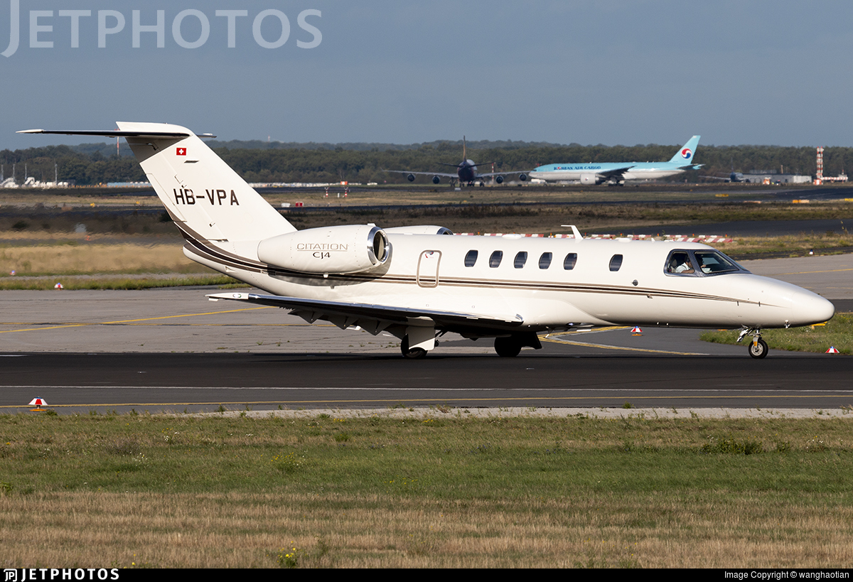 HB-VPA - Cessna 525C CitationJet 4 - Albinati Aviation