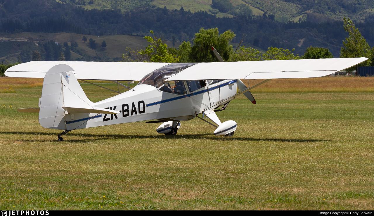 ZK-BAQ - Auster J1B - Private