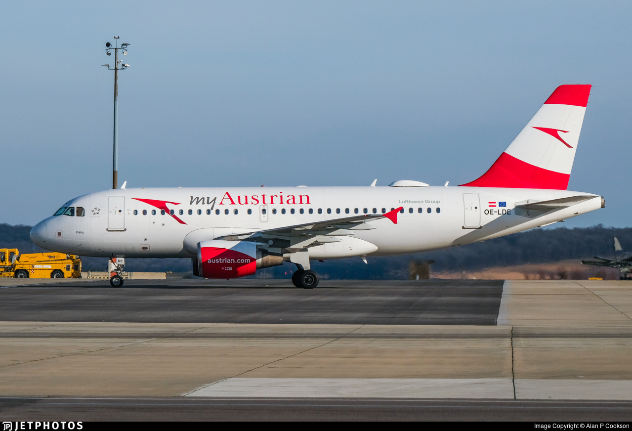 OE-LDE - Airbus A319-112 - Austrian Airlines