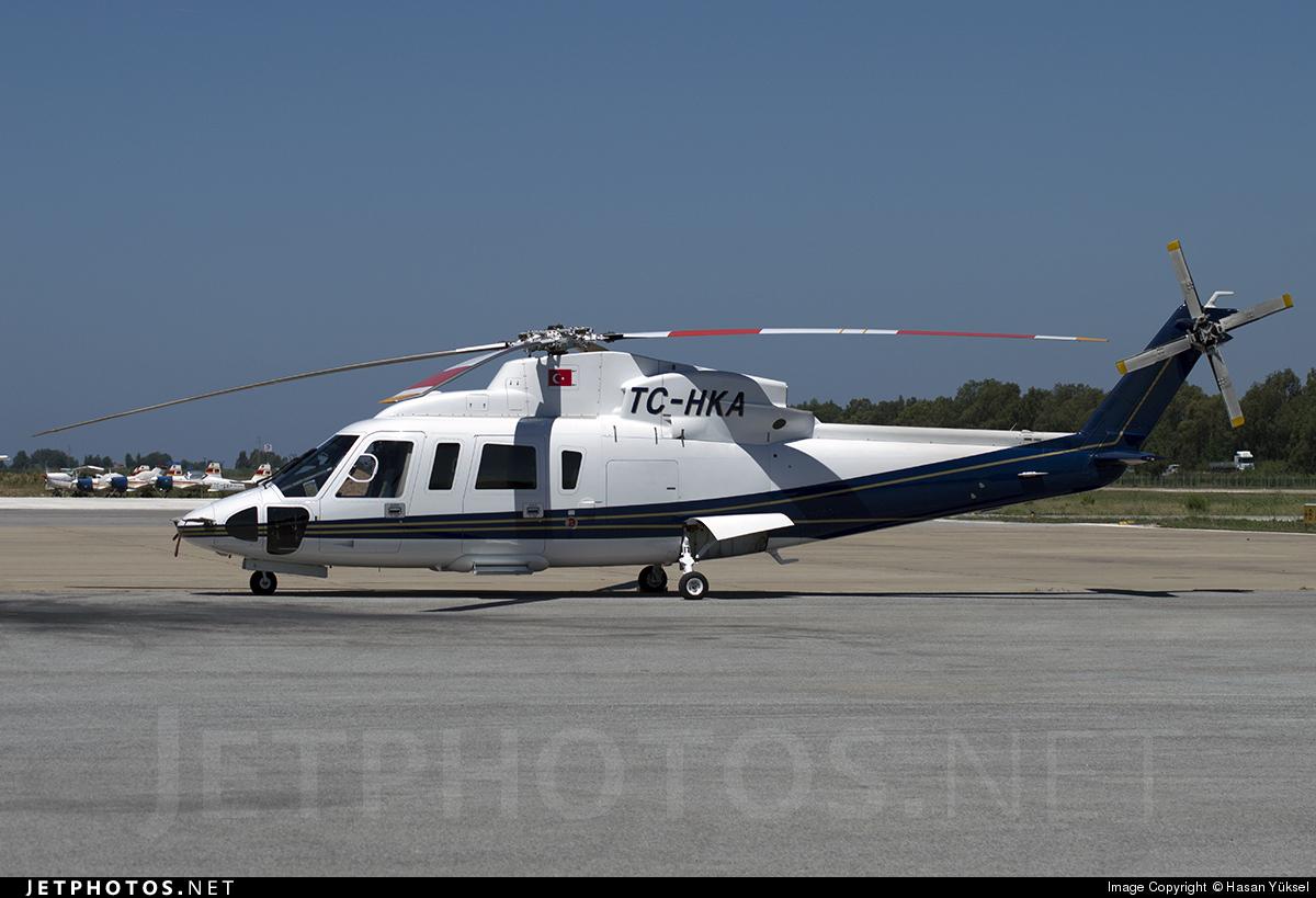 TC-HKA - Sikorsky S-76C++ - Private