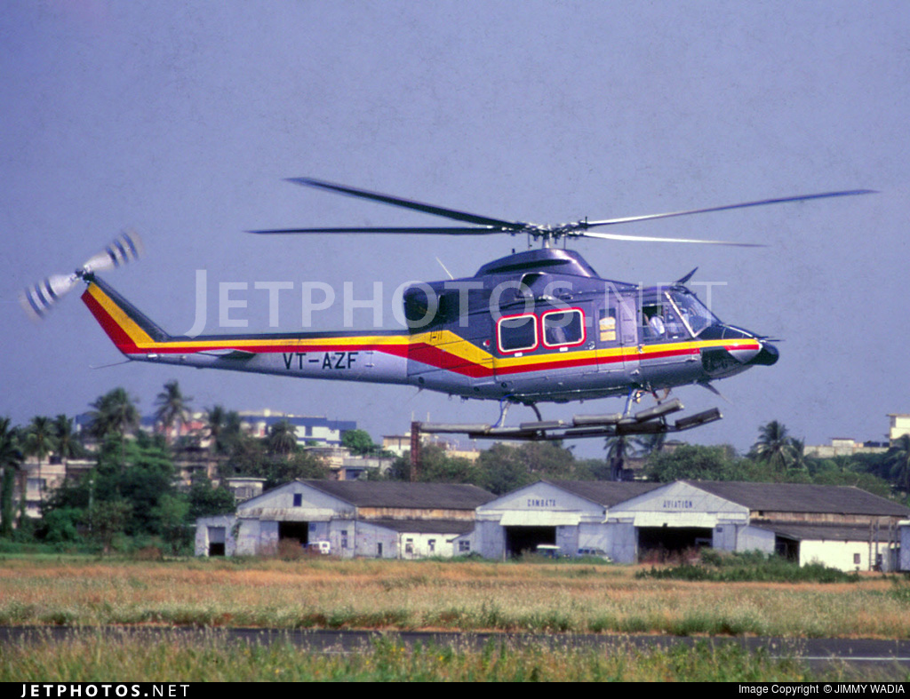 VT-AZF - Bell 412SP - Private
