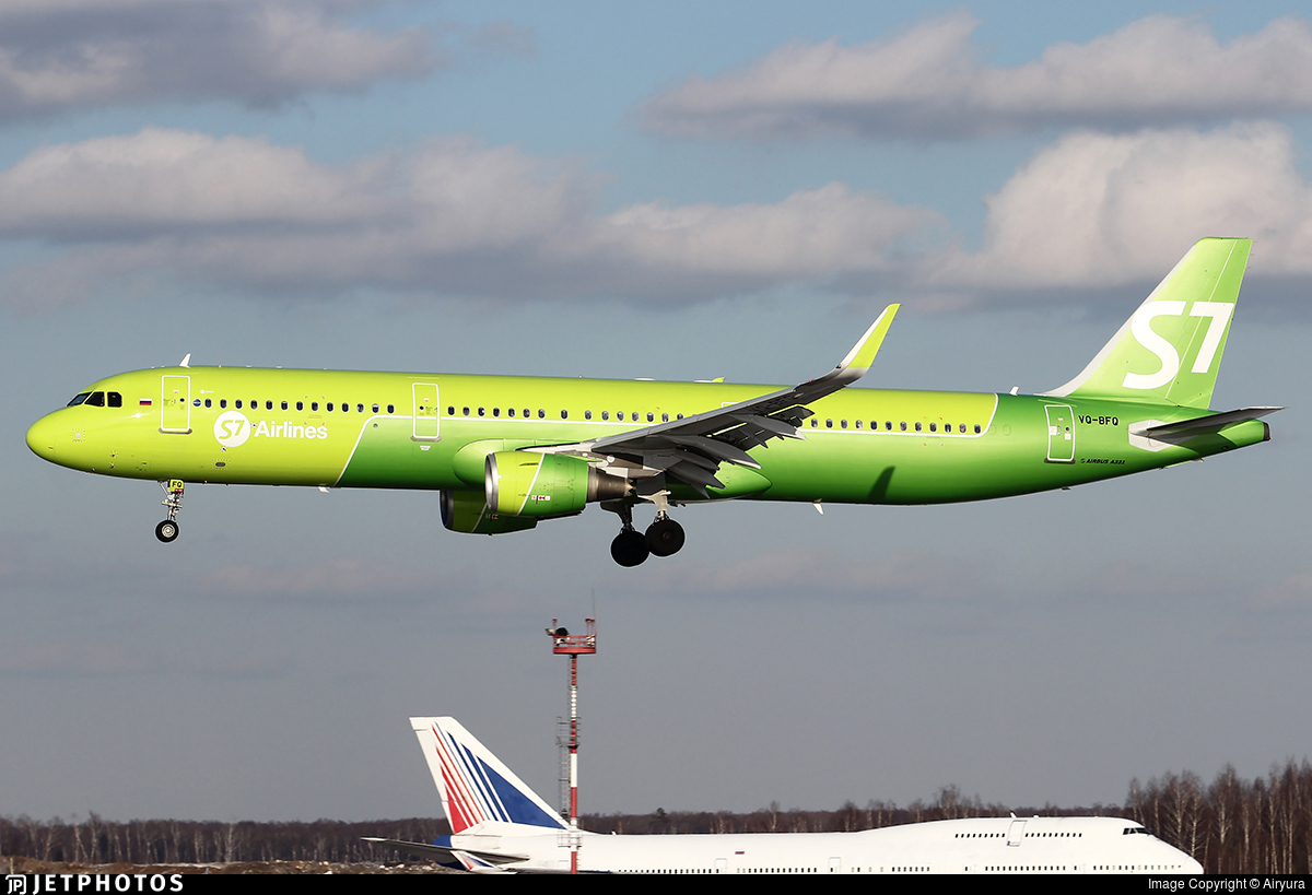 VQ-BFQ - Airbus A321-211 - S7 Airlines